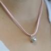 Kép 7/7 - angyalhívó csengő medálként viselve