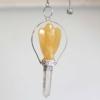 Kép 2/4 - Öröm angyala - sárga kvarc inga