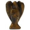 Kép 7/8 - Tigrisszemből készült kristályangyal figura.