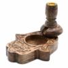 Kép 1/12 - spirit füstlépcső visszaáramló füstölő állvány folyékony füst füstölőkúphoz
