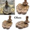 Kép 11/12 - Ohm szimbólumos visszaáramló füstölő állvány.