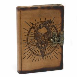 okkult, ördögi bőrnapló, egyedi jegyzetfüzet