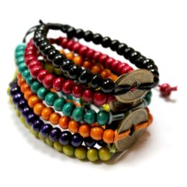 Feng Shui - Szerencse karkötő - több színben