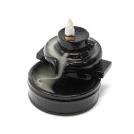 Zen Relax Látványfüst - backflow füstölő szett (állvány + füstölőkúp)
