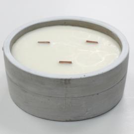 Góliát illatgyertya - kerek beton gyertya több illatban