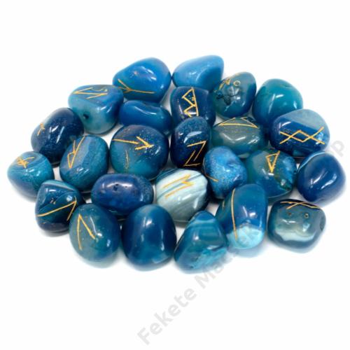 kék ónix rúna kövek