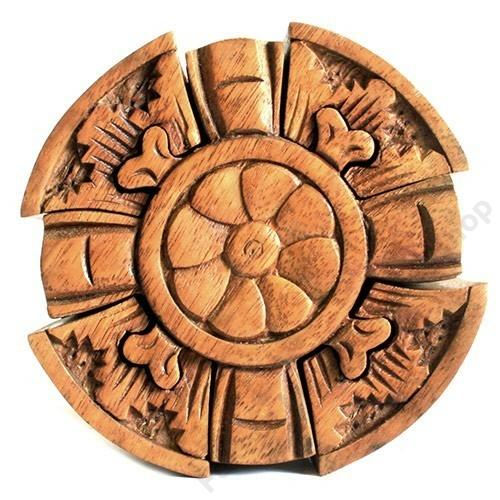 Trükkös titokdoboz kelta kerszt szimbólummal