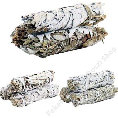 zsálya mix növényi füstölő kötegek
