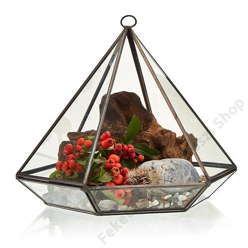 florárium, üveg terrárium