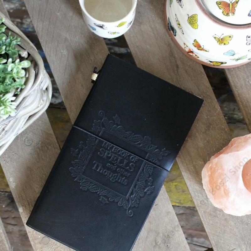 Árnyak könyve - napló, jegyzetfüzet