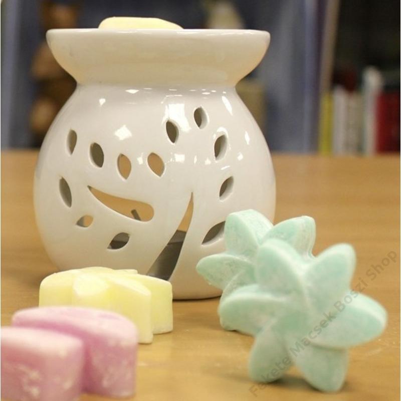 kerámia aromalámpa illatos viasz kockához