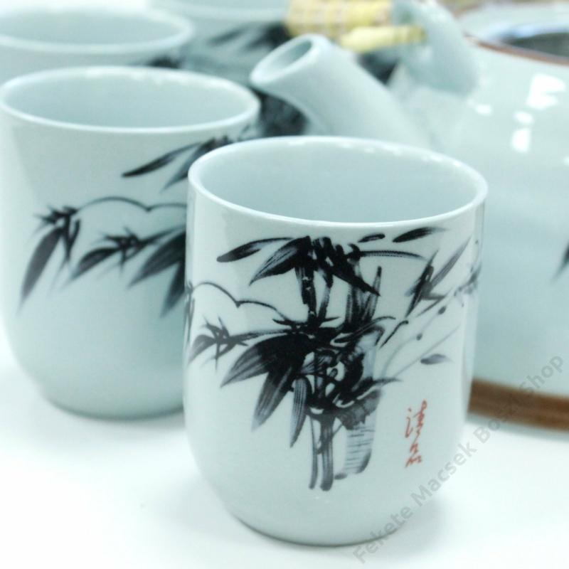 Távol-Keleti minta a csészéken is