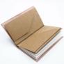 Kép 6/7 - Újrahasznosított papírból készült bőr jegyzetfüzet