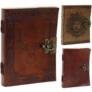 Kép 1/9 - bőrkötésű vintage naplók noteszok
