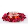 Kép 2/3 - Rózsaszirommal készített dekoráció