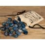 Kép 2/4 - kék ónix ásvány rúnák