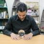 Kép 2/6 - közepes méretű üveggömb