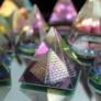 Kép 1/8 - misztikus kristály piramis dekortárgy