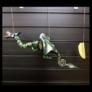 Kép 1/4 - Felakasztható Sárkány, mozgó mobil játék