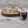 Kép 1/11 - elegáns ásványi kristály medálos nyaklánc
