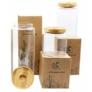 Kép 6/6 - Praktikus konyhai tárolás üvegedényekkel.
