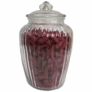 Kép 1/2 - klasszikus gömbölyített üveg tárolóedény