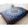 Kép 2/4 - kék mandala ágytakaró