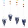 Kép 13/13 - Lapis Lazuli kristálymagos orgonit ingák