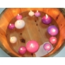 Kép 3/4 - dekoráció különböző méretű úszógyertyákkal
